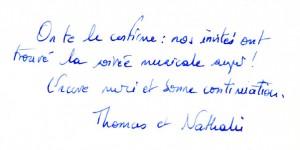 Mariage de Thomas et Nathalie